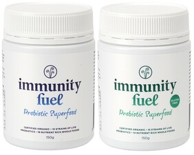 Immunity Fuel Probiotic Superfood Twin Pack (1 x Original & 1 x Gluten Free)